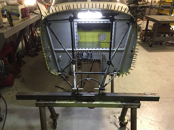 kansas small aircraft airframe firewall repair shop